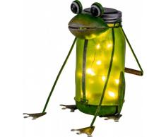 Solar LED Deko Leuchte RICHARD Frosch
