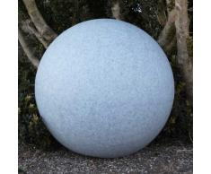 Kugelleuchte, Gartenkugel, GlowOrb stone, 56cm Ø, 10481