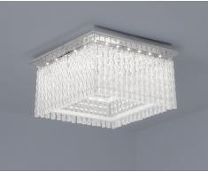 LED Deckenleuchte Aurora Square K5 Glaskristalle 36x36cm 21W 4000K chrom 10735