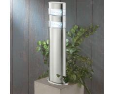 LED Wegeleuchte Gartenleuchte LED_Stand2 50cm silber 10039