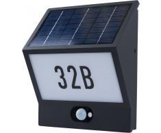Solar LED Wandleuchte Andrea mit Bewegungsmelder 3,3W 210 Lumen