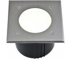 LED Bodeneinbaustrahler AACHEN 8W IP67 16 x 16cm