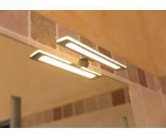 LED Spiegelleuchte LUCE, 7W, IP 44, 3000 K, 12 V DC