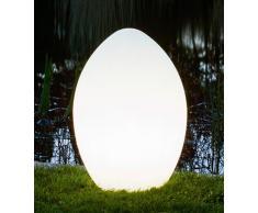 Leuchtendes Ei Gartenleuchte GlowEgg 65cm hoch
