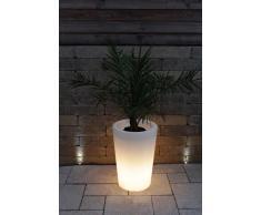 Pflanzkübel Pflanzsäule GlowTub round H: 60cm beleuchtet 10613
