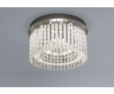 LED Deckenleuchte Aurora Round K5 Glaskristalle Ø 37cm 18W 4000K chrom 10734