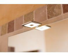 LED Spiegelleuchte PIAZZA, 4,5W, IP 44, 3000 K, 12 V DC