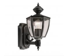 Eco-Light Lutec LED-Außenwandlampe Arran Garden mit Bewegungsmelder