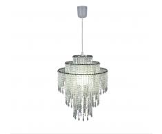 Näve 7013831 Lampenschirm zur Kombination mit Pendelleuchte Farbe Perlmutt