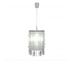 Näve 7013731 Lampenschirm zur Kombination mit Pendelleuchte Farbe Perlmutt
