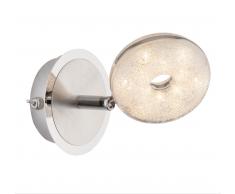Globo LED Wandleuchte chrom 56123-1