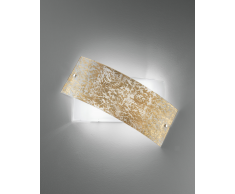 Luce ambiente Design Wandleuchte Picasso Gold