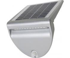Eco-Light Lutec Solar Außenwandleuchte SOLO P9001 si mit Bewegungsmelder