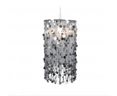 Näve 6008659 Lampenschirm zur Kombination mit Pendelleuchte Farbe Silber