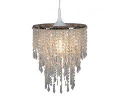 Näve 6008731 Lampenschirm zur Kombination mit Pendelleuchte Farbe Perlmutt