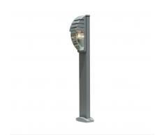 Eco-Light Lutec moderne Wegeleuchte Sockelleuchte City 11836R gr