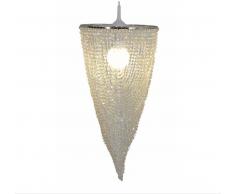 Näve 6032531 Lampenschirm zur Kombination mit Pendelleuchte Farbe Durchsichtig