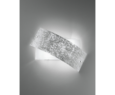 Luce ambiente Design Wandleuchte Picasso Silber