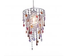 Näve 7028061 Lampenschirm zur Kombination mit Pendelleuchte Farbe Bunt