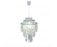 Näve 7013931 Lampenschirm zur Kombination mit Pendelleuchte Farbe Perlmutt