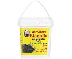 KEYZERS® Gartenperlen- Dünger Bionalla rein biologisch für 80qm, 2kg