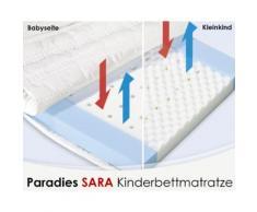 Paradies Sara Kinder- und Babymatratze 70x140 cm