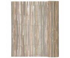 vidaXL Bambusmatte Sichtschutzmatte Sichtschutz 100 x 400 cm