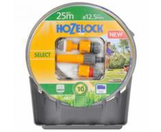 Hozelock Select Gartenschlauch Starter-Set 25m mit Halter 6025P1240