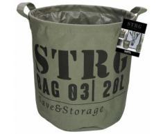 Gusta Ablagekorb 28x28 cm Armeegrün 04126100