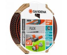 GARDENA Gartenschlauch-Set 6-tlg. Comfort FLEX 13 mm 20 m 18034-20