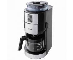 Bestron Kaffeemaschine mit Mahlwerk 820 W Edelstahl ACM1100G