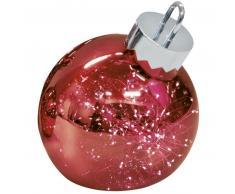 Sompex ORNAMENT Weihnachtskugel-Leuchte - rot - Ø 30 cm
