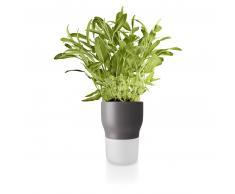 Eva Solo selbstwässernder Blumentopf mittel - nordic grey - Ø 11 cm