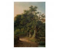 KEK Amsterdam Golden Age Landscapes Fototapete - grau - 194,8 x 280 cm (= 4 Bahnen)
