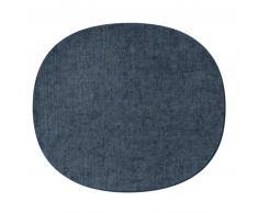 HEY-SIGN EAMES PLASTIC SIDECHAIR Sitzauflage - taubengrau - 35x31 cm