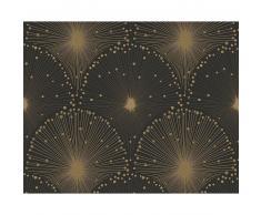 A.S. Création Spot 3 Vliestapete - metallic-schwarz - Breite 0,53 m - Rollenlänge 10,05 m
