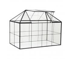 HK living mini glass greenhouse Mini-Gewächshaus