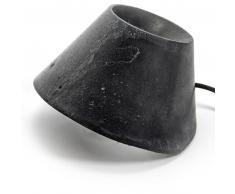 Serax EAUNOPHE INDOOR L Tisch-/ Bodenleuchte - schwarz - Ø 60 cm - Höhe 50 cm