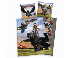 DreamWorks Dragons Kinder-Bettwäsche