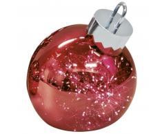 Sompex ORNAMENT Weihnachtskugel-Leuchte - rot - Ø 20 cm