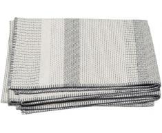 David Fussenegger Basic Strukturstreifen Baumwolldecke