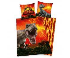 Herding Jurassic World Kinderbettwäsche