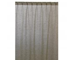 Linum INTERMEZZO Vorhang mit Faltenband - Khaki green A20 - 140x290 cm