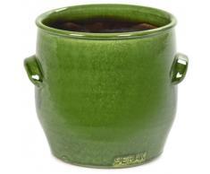 Serax Handles Blumentopf - grün - Ø 16 cm - Höhe 16 cm