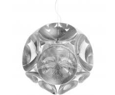 qeeboo Pitagora Ceiling Lamp Hängeleuchte - transparent - 48,7 x 45,7 x 48,4 cm