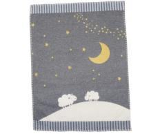 David Fussenegger Kids Babydecke Mond und Schafe