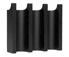 Kristina Dam Studio Column Wandgarderobe - black - 21x5,5x18 cm
