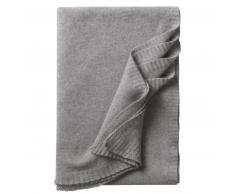Eagle Products Biella Kaschmir-Decke - silber - 130x190 cm