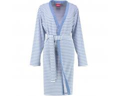 s.Oliver 3712 Kimono-Bademantel mit Schalkragen - denim - L