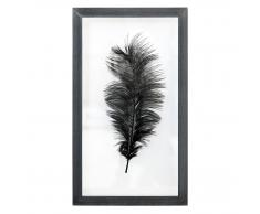 HK living Ostrich feather frame Bilderrahmen